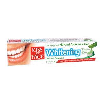 KISS MY FACE: Whitening Value Pack Toothpaste Twin Pack 1 multi