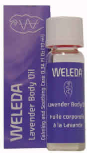 WELEDA: Lavender Body Oil Trial Size .34 oz