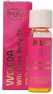 WELEDA: Wild Rose Body Oil Trial Size .34 oz