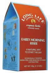 LONG LIFE TEAS: Early Morning Riser Tea 20 bags