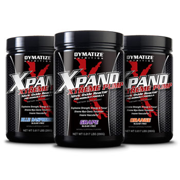 Dymatize: Xpand xtreme pump orange 14 SERVINGS