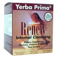 Yerba prima: Women's renew internal cleansing program 3 pc