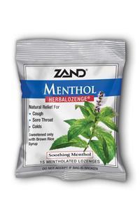 ZAND: HerbaLozenge Menthol 15 loz