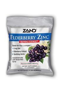 ZAND: HerbaLozenge Elderberry Zinc 15 loz