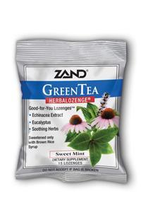 ZAND: HerbaLozenge Green Tea With Echinacea 15 loz