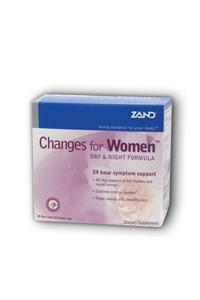 ZAND: Changes for Women Day  Night Formula 30 night caps 30 day caps
