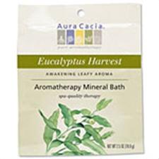 AURA CACIA: Eucalyptus Harvest Mineral Bath 2.5 oz