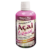 Natures Plus: Acai Liquid Whole Fruit extract 30 fl oz
