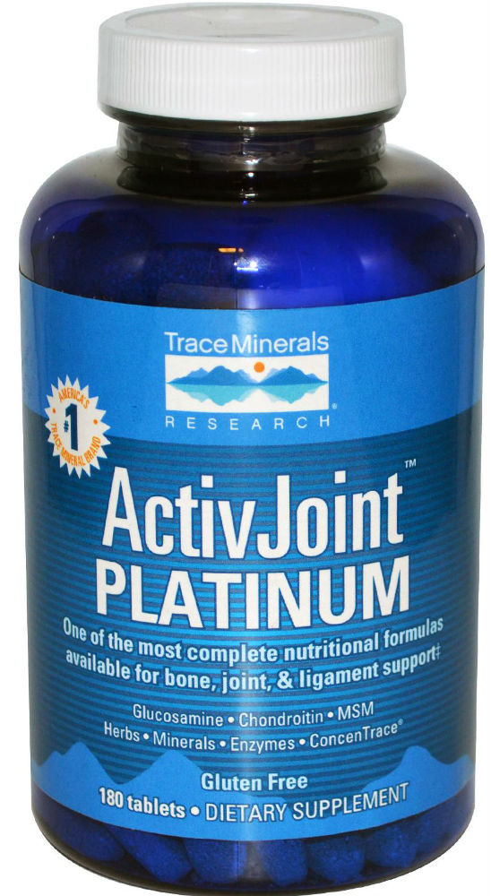 Trace Minerals Research: ActivJoint Platinum 180 tab