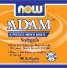 NOW: Adam Mens Multiple Vitamin 90 Softgels