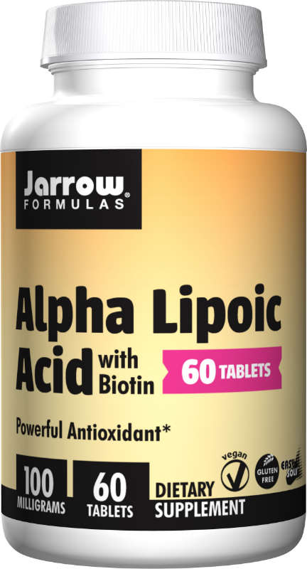 Alpha Lipoic Acid 100 MG, 60 TABS