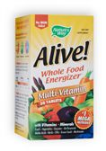 NATURE'S WAY: Alive Multi No Iron 30 tabs