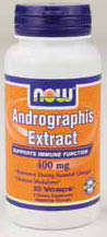 NOW: Andrographis Extract 400mg 90 Vcaps