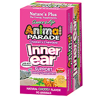 Natures Plus: Animal Parade Inner Ear Support W-K12 and Probiotics 90 ct