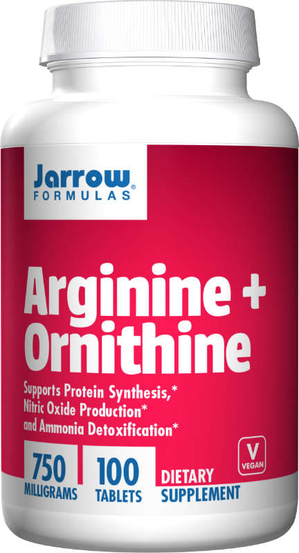 Arginine Plus Ornithine 750 MG, 100 CAPS