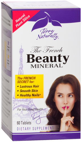 The French Beauty Mineral, 60 Tabs