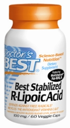 Best R Lipoic Acid 100mg, 60VC