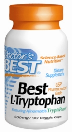 Doctors Best: L-Tryptophan 500mg 90 vCaps