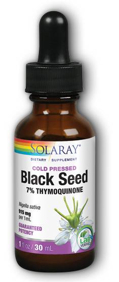 Solaray: Black Seed Oil 7% Thymoquinone 30 ml