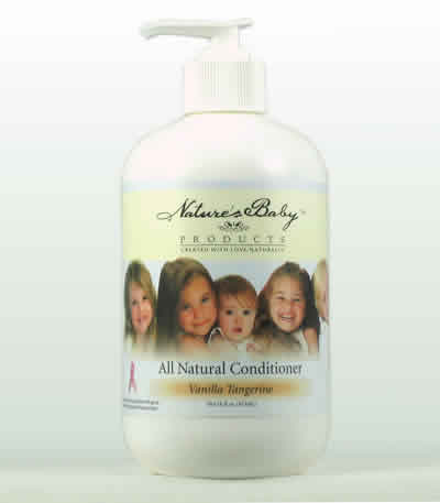 Natures baby products: All natural conditioner vanilla tangerine 16 oz