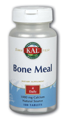 Bone Meal With Vit. D 100ct from Kal
