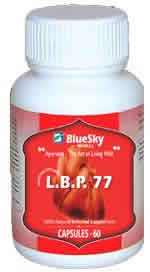 BLUE SKY HERBAL INC: L B P  77 (Blood Pressure Maintenance) 60 caps