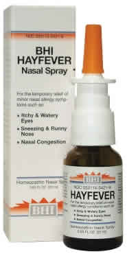 BHI: Hayfever Nasal Spray 20 ml