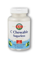 C Sugarless Key Lime 500mg, 60 ct