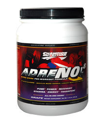 CHAMPION NUTRITION: Adrenol-8 Grape 820 gm