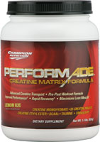 CHAMPION NUTRITION: Performade Raspberry Powder 630 g