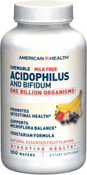 Acidophilus Chewable Assorted Fruit Flavor, 100 wafers