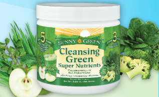 Cleansing Green Dietary Supplement