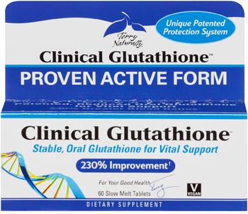 EuroPharma: Clinical Glutathione 300mg 60 Slow Melt Tabs