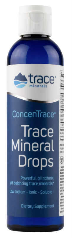 Low Sodium ConcenTrace Trace Mineral Drops, 4 fl.oz.