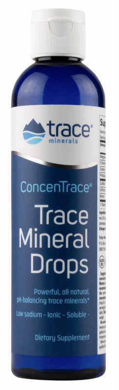 Low Sodium ConcenTrace Trace Mineral Drops, 2 fl.oz