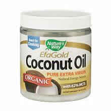 NATURE'S WAY: Coconut Oil-Organic Extra Virgin 16 oz
