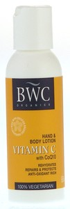 BEAUTY WITHOUT CRUELTY: Organic Vitamin C With CoQ10 Hand and Body Lotion 2 oz