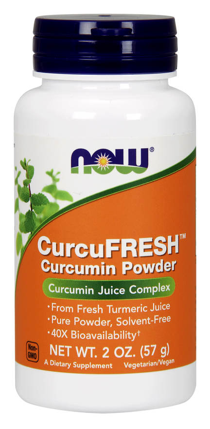 NOW: CurcuFresh Curcumin 2 oz