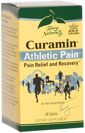 EuroPharma: Curamin Athletic Pain 60 Tabs