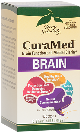 Curamed Brain (aka Mental advantage), 60 Caps
