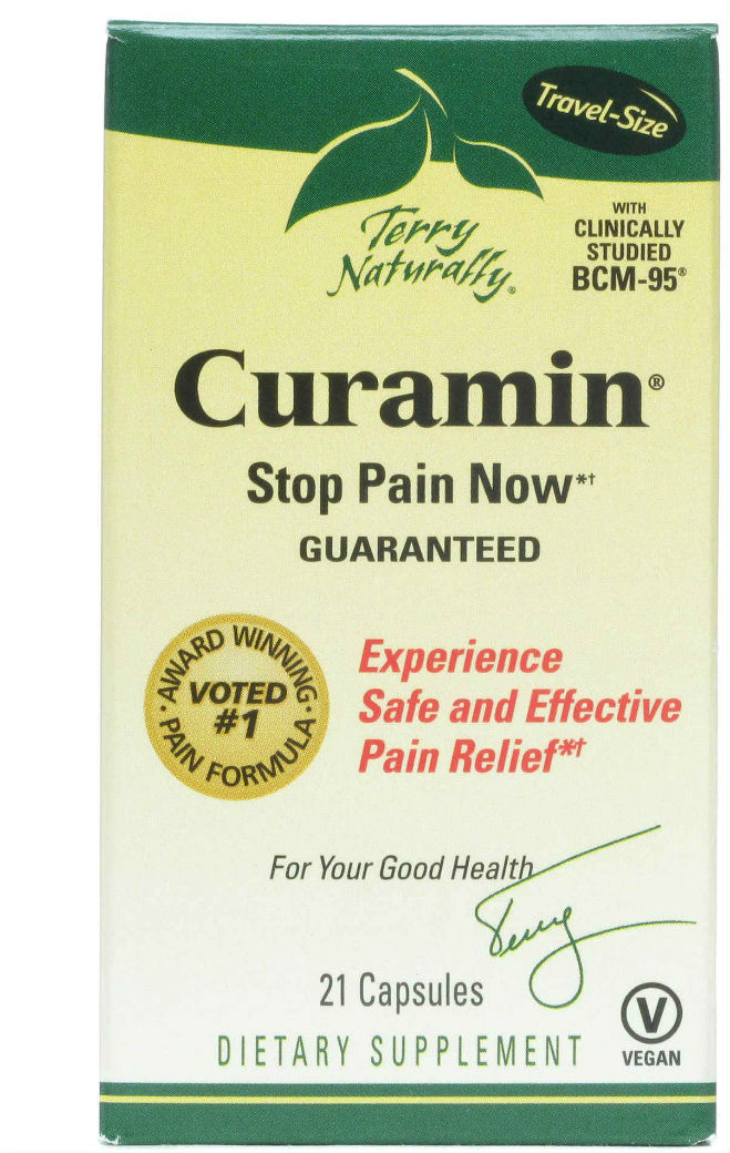 Curamin (End Inflammation Pain) 120 caps from EuroPharma
