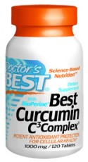 Doctors Best: Best Curcumin with Bioperine 1000MG 120c
