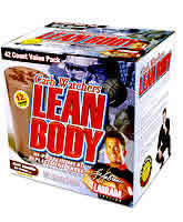 LABRADA BODYBUILDING NUTRITION: LOW CARB LEAN BODY CHOC 42  PK 42 BOX