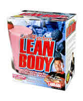 LABRADA BODYBUILDING NUTRITION: LOW CARB LEAN BODY STRAW 20  PK 20 BOX