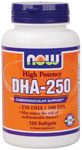 NOW: DHA-250 500mg  120 SGELS 1