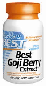 Doctors Best: Best Goji Berry Extract 120 VC