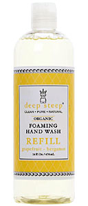 DEEP STEEP: Grapefruit Bergamot Foaming Handwash Refill 16 oz