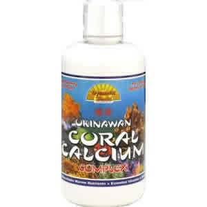 DYNAMIC HEALTH LABORATORIES INC: Liquid Coral Calcium Complex 32 oz