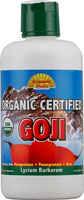 DYNAMIC HEALTH LABORATORIES INC: Organic Certified Goji Juice Blend 33.8 oz