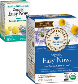 TRADITIONAL MEDICINALS TEAS: Easy Now Tea 16 bags